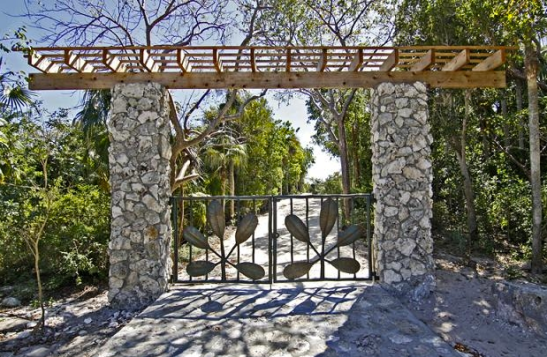 The Leon Levy Preserve Gates